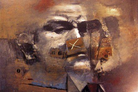 Cabeza con Números B (1963)