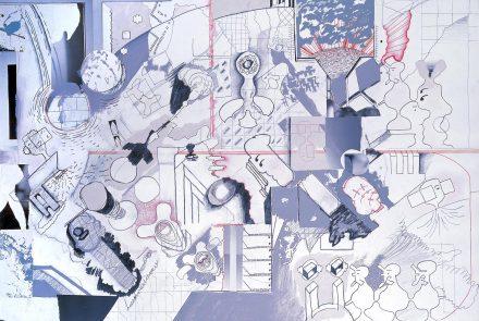 Dibujo más Foto más Acrílico A (1976)
