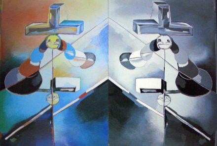Oblicuo Crucificado (1976)
