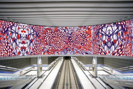 Intervención en estación de metro en Madrid (2007)