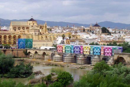 Intervención en el puente de Córdoba (2007)