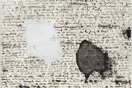 Letrismos con Mancha Blanca y Mancha Negra (1959)